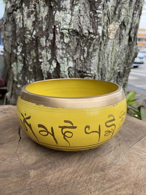Tigela Tibetana/Orin Amarela G