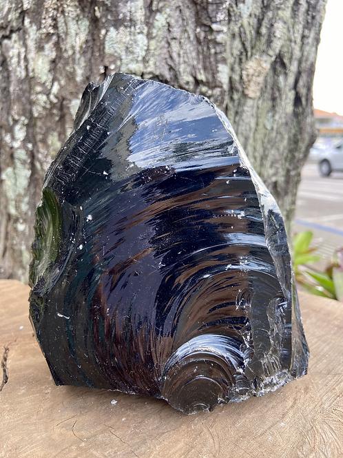 Obsidiana Negra Grande