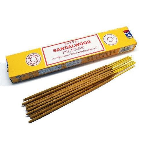 Incenso Indiano Massala Satya - Sandalwood