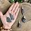 Thumbnail: Pingente de Vassoura de Bruxa/ Cianita Negra