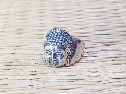 Anel Buda Sidarta Gautama (prata 925)