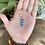 Thumbnail: Pingente de Cianita Azul Dourado (peça única)