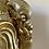 Thumbnail: Ganesha dourado de resina. (peça única)