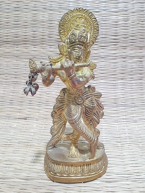 Estatueta Krishna (bronze)