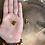 Thumbnail: Pingente de Citrino Rolado Dourado (peça única)