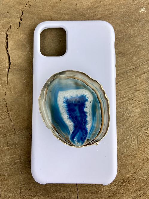 Phone Grip / Pop Socket Ágata Azul