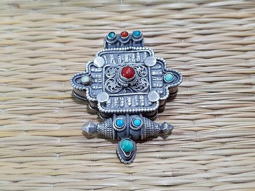 Pingente Nepal Caixa (prata 925)
