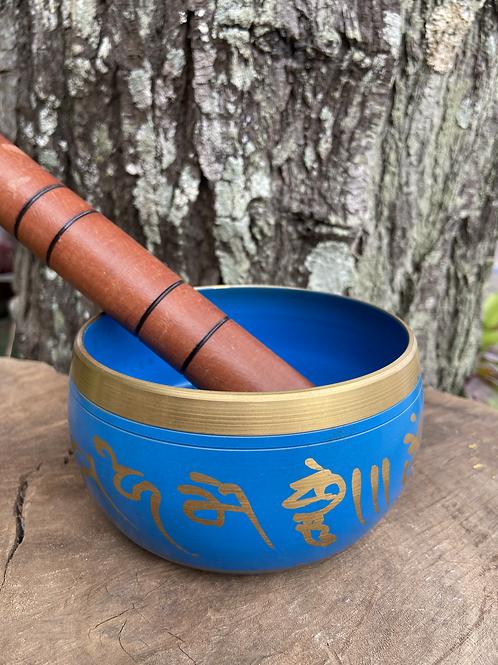 Tigela Tibetana/Orin Azul M