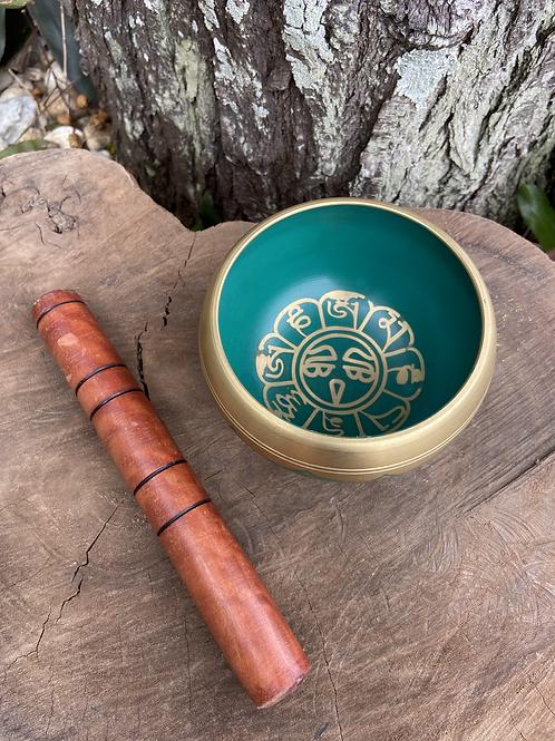 Tigela Tibetana/Orin Verde M