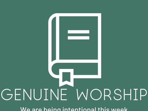 Genuine Worship