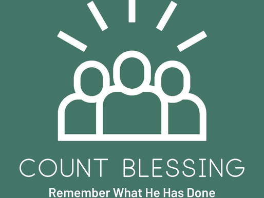 Celebrate Victory: Count Blessings