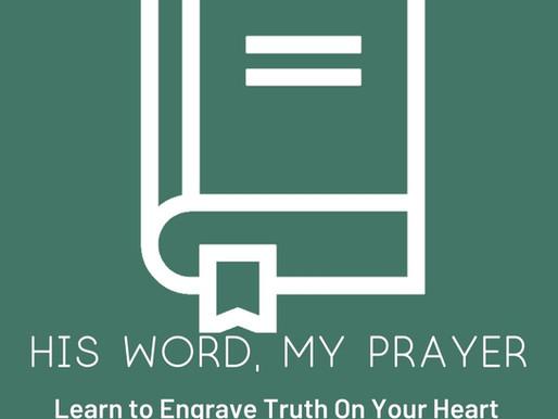 Pray Like David