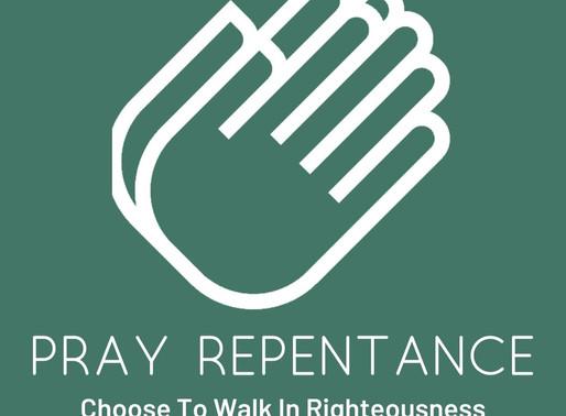 Pray Repentance