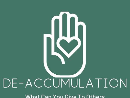 De- accumulation