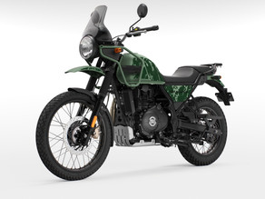 2021 Royal Enfield Himalayan launched at Rs.2.01 lakhs (ex-showroom)