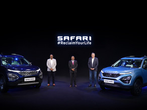 New Tata Safari launched at Rs.14.69 Lakhs.