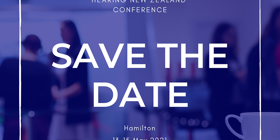 Hearing New Zealand Conference 2021