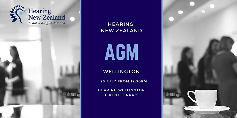 Hearing New Zealand 2020 AGM