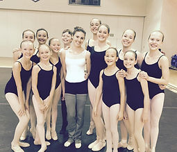 Dancers with Tiler Peck at Vail