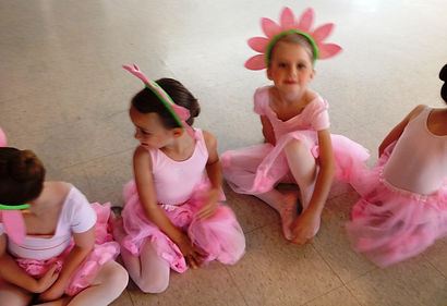 Pre-Ballet Dancers at Littleton Ballet Academy