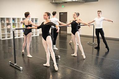 Ballet 7 and 8 dancers-Littleton Ballet Academy