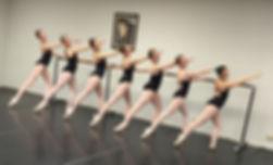 Ballet 7 and 8 dancers at Littleton Ballet Academy