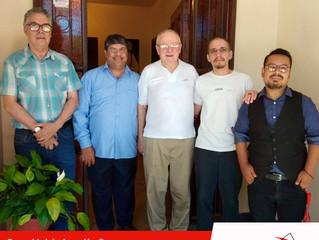 Llegada del P. Gilbert a la Comunidad de Asunción