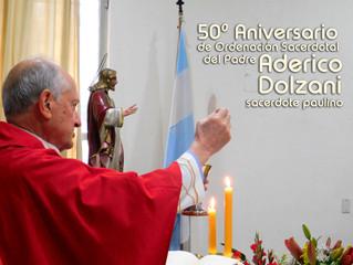 50º ANIVERSARIO DE ORDENACIÓN SACERDOTAL DEL P. ADERICO