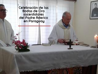 Celebración de los 50 años de sacerdocio del P. Aderico Dolzani en Paraguay