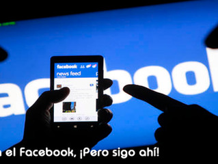Aburrido de mi Facebook, ¡pero sigo ahí!
