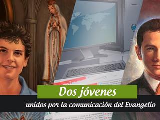 Dos jóvenes unidos por la comunicación del Evangelio