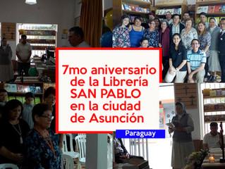 7º Aniversario de la Librería SAN PABLO- Asunción