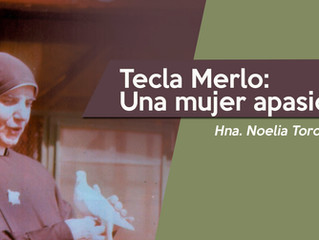 Tecla Merlo, una mujer apasionada