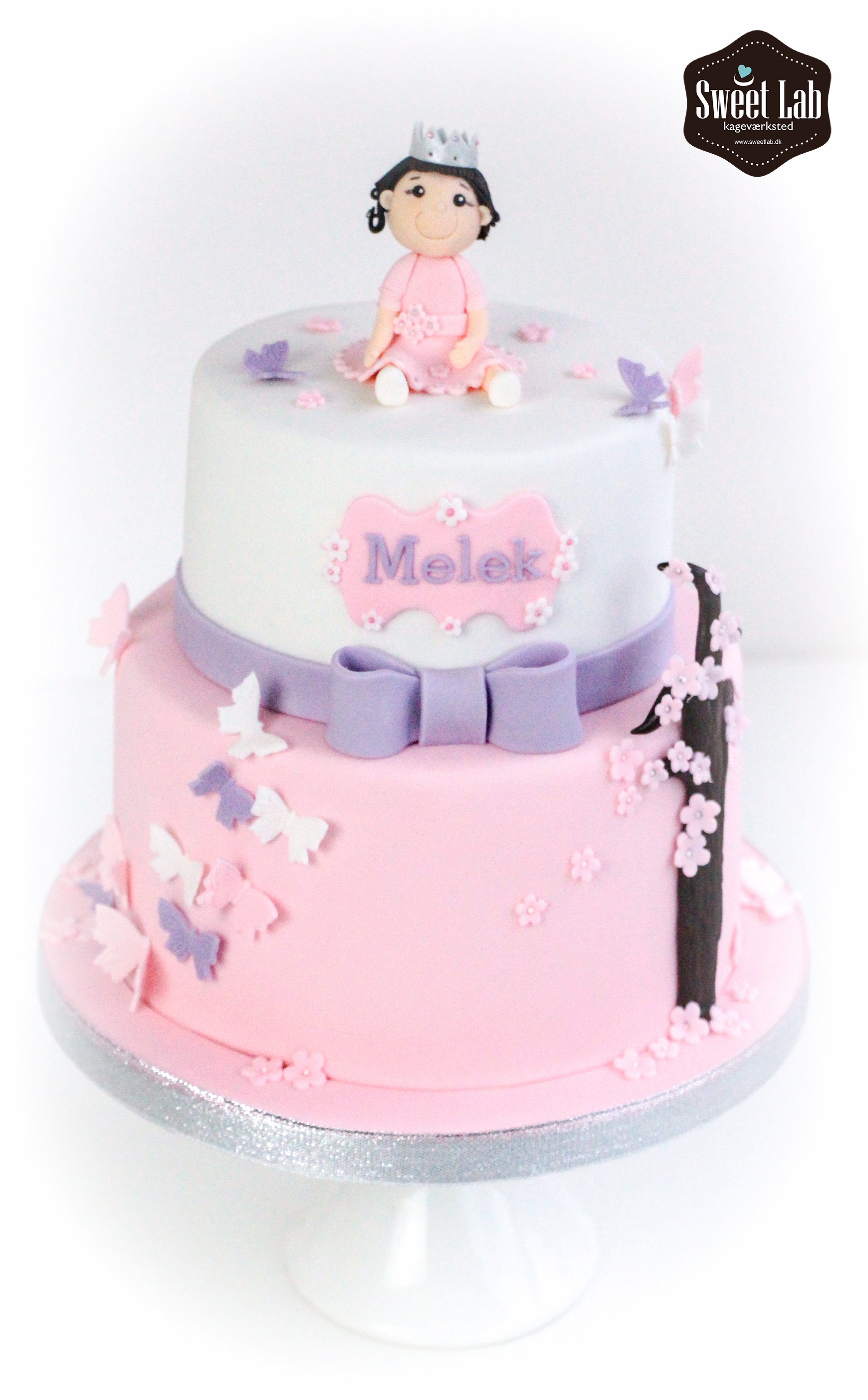 lille pige kage