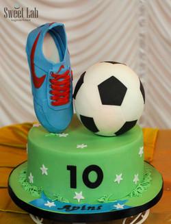 fodbold kage