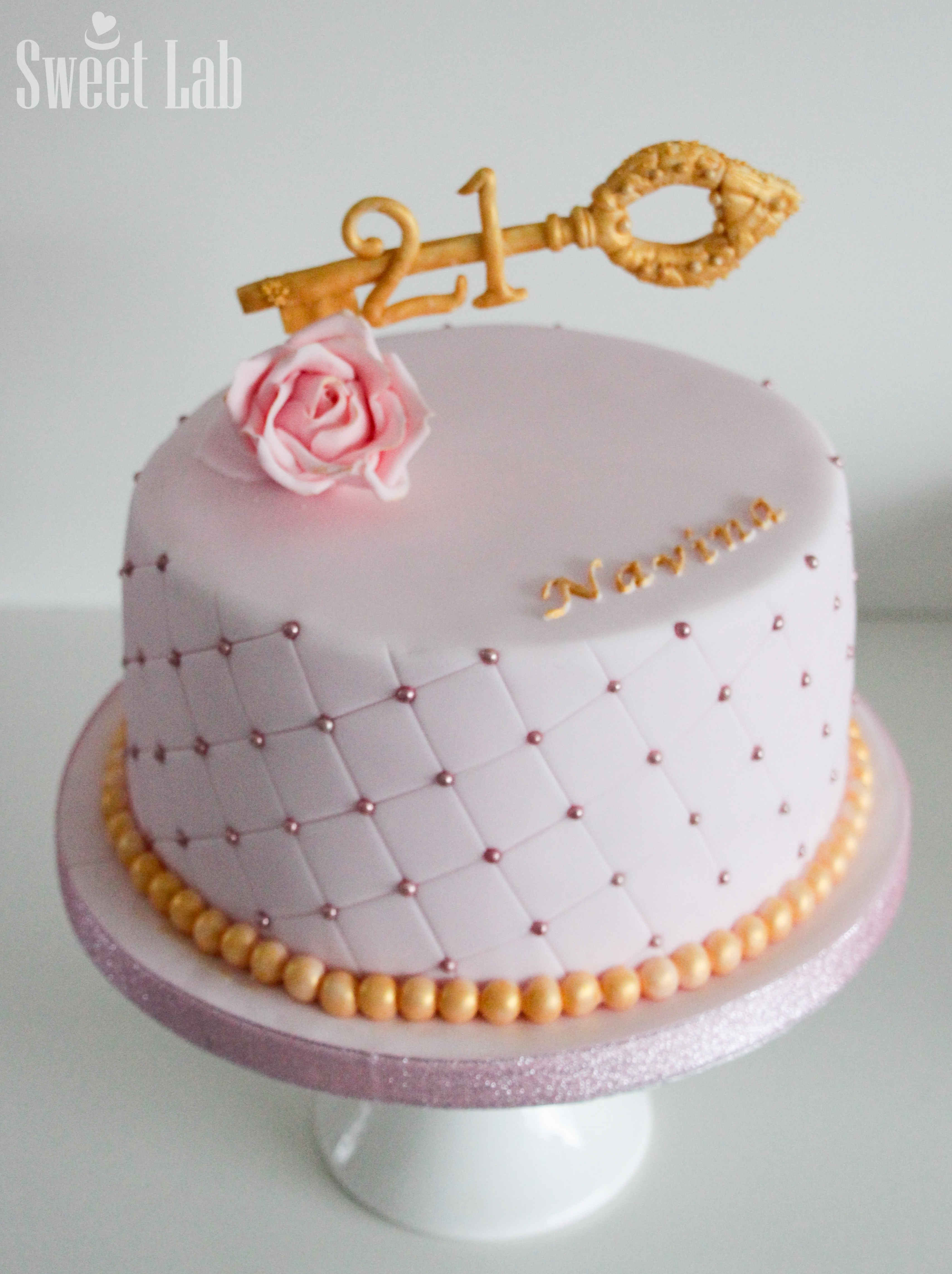 21 fødselsdagkage