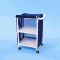 PVC Linen Carts with 24″ Shelves