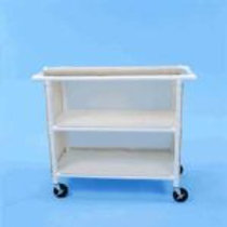 PVC Linen Carts with 42″ Shelves