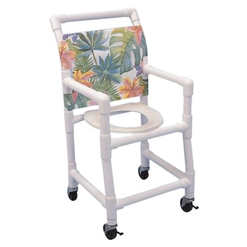 PVC Pediatric Shower-Commode Chair
