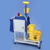 PVC Housekeeping / Janitorial Cart