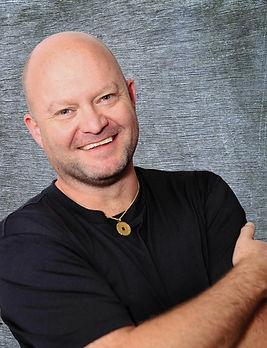 Jason Black short sleeve with gray backg