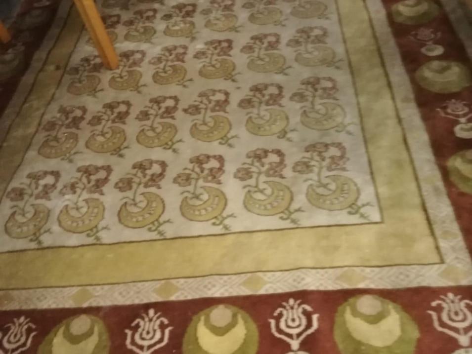 Teppich Reinigung Vorher