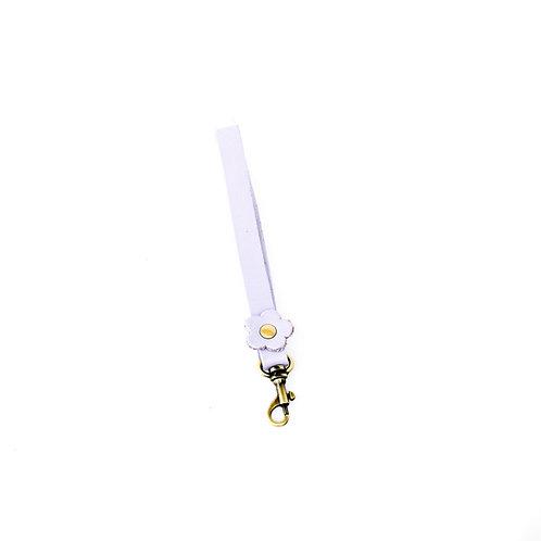 xxxxx flower leather wrist strap