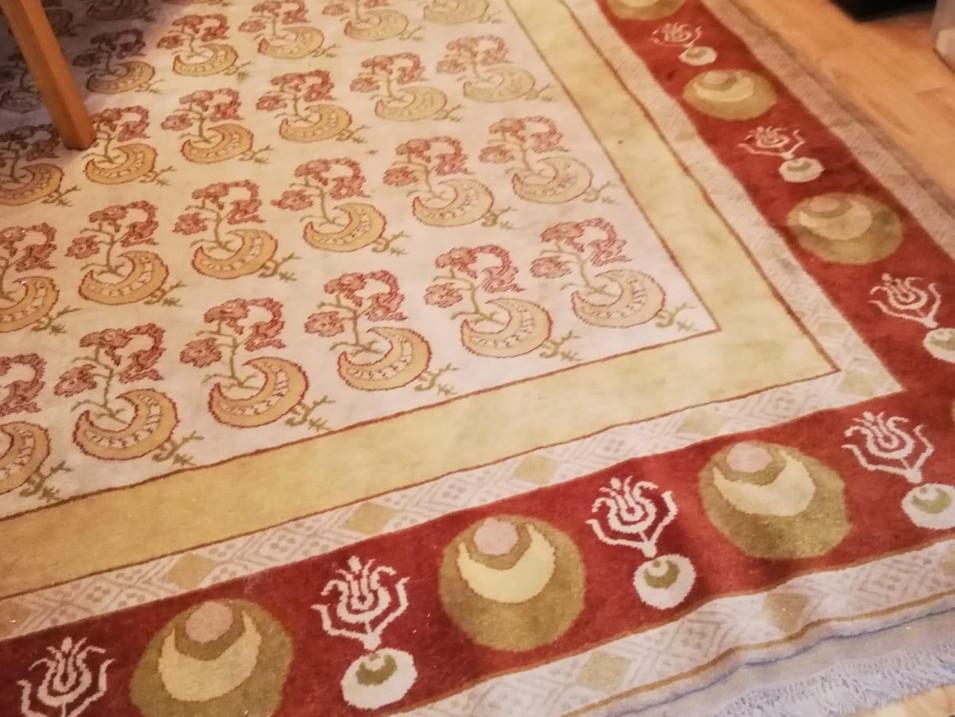 Teppich Reinigung Nachher