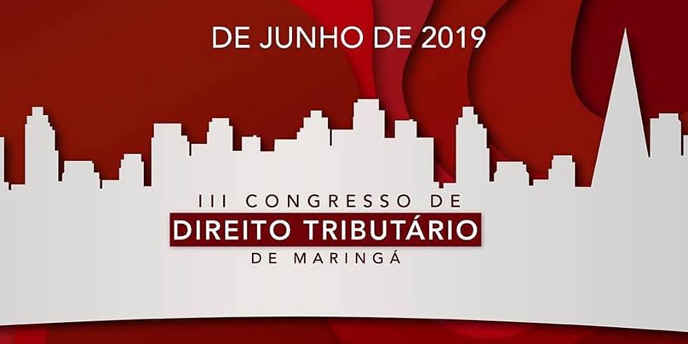 III Congresso de Direito Tributário de Maringá
