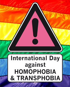 Press Release: International Day Against Homophobia, Transphobia and Biphobia