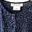 Thumbnail: Jaeger Navy Blue Polka Dot Top