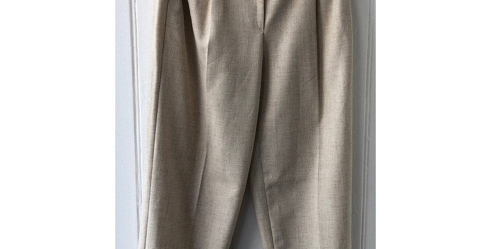 High Waist Vintage Trousers Size UK 14