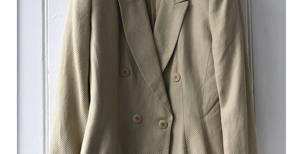 Vintage Mani Double Breasted Blazer