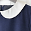 Thumbnail: Navy Blue Vintage School Style Dress